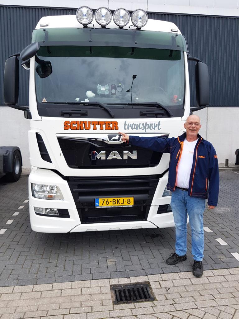 Vrachtwagen Chauffeur