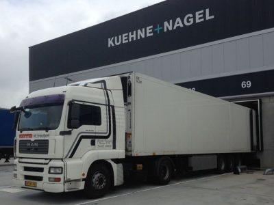 Kuehne + Nagel distributie chauffeur