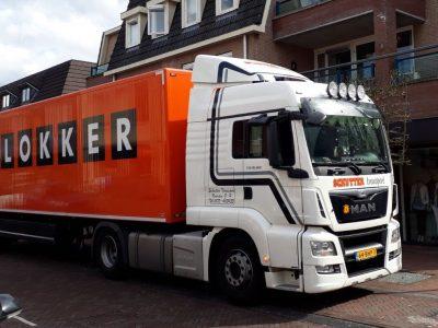 Blokker distributie vervoer