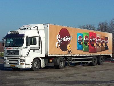 Senseo vervoer Schutter Transport